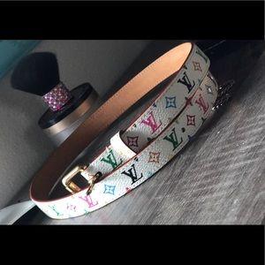 Louis Vuitton Accessories - Authentic Louis Vuitton thin women's fashion belt